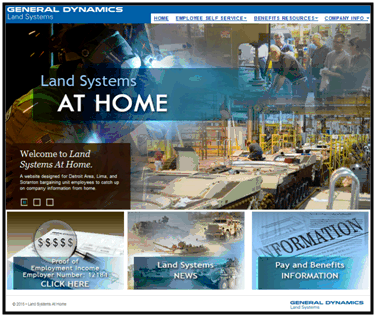 Land Systems at home